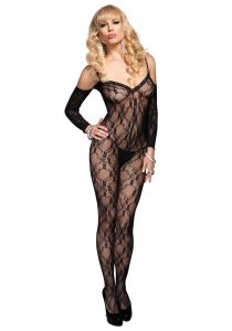 Leg Avenue - Catsuit m. blonder