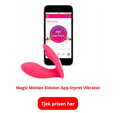 Magic motion eldolon app styret vibrator
